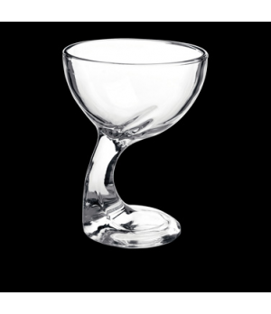 "Dessert Glass, 12-1/4 oz., 4-3/8"" x 5-1/2', footed, Bormioli, Jerba (priced per"