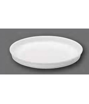 "Serving Dish/Lid, 10-1/4"" dia., round, oven, microwave and dishwasher safe, porc"
