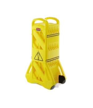 Mobile Barrier, yellow