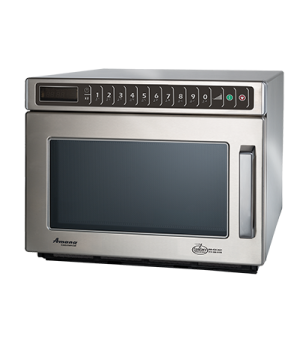 Amana® Commercial Microwave Oven, 0.6 cu. ft. capacity, 2100 watts, heavy volume