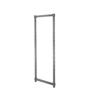 "Camshelving® Elements Post Kit, 24""W x 64""H, withstands temperatures from -36°F"