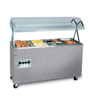 """Affordable Portable™ Hot Food Station, (4) well, 60""""W x 39-1/2""""D x 59""""H O.A., bu"""