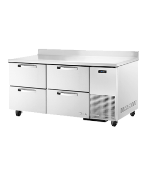 Spec Series Deep Work Top Refrigerator, two-section, SPEC Package 1 includes: (s