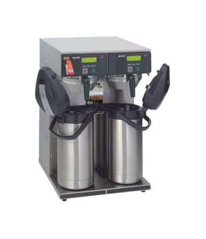 38700.0013 AXIOM® Twin APS Airpot Coffee Brewer, brews 15 gallon per hour capaci