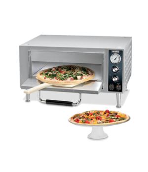 "Pizza Oven, single compartment, single ceramic deck, holds 18"" diameter pizza, m"