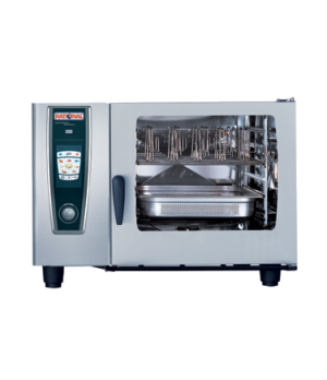 """(SCC WE 62G) SelfCooking Center® WhiteEfficiency®, gas, full size, (6) 18"""" x 26"""""""