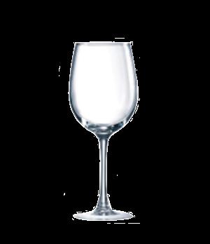 """White Wine Glass, 12 oz., glass, Marque Du Client, Connoisseur, (H 7-15/16""""; M 2"""