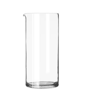 Cocktail Stirring Glass, 33 oz., with pour spout, fits standard size strainers (