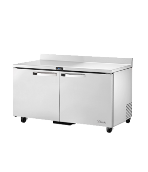 SPEC SERIES® Work Top Refrigerator, two-section; SPEC Package 1 includes: 16-ga.