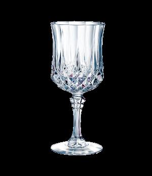 """Goblet Glass, 8-1/4 oz., crystal, Cristal D'Arques, Longchamp, (H 7""""; T 2-3/4"""";"""