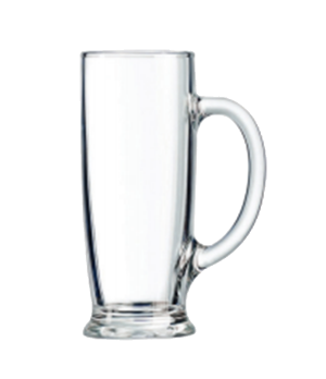 "Beer Mug, 18 oz., Marque Du Client, Ferdinand, (H 7-3/8""; M 3-1/8"")"
