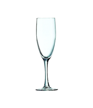 Champagne Flute Glass, 5-3/4 oz., fully tempered, glass, Arcoroc, Excalibur (H 7