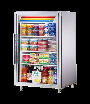 Countertop Refrigerated Merchandiser, True standard look version 01, (3) shelves