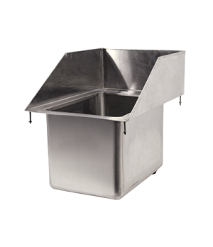 "(39786) Drop-In Sink, one compartment, 10"" wide x 14"" front-to-back x 10"" deep,"