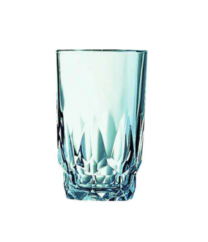 "Hi Ball Glass, 8-3/4 oz., fully tempered, glass, Arcoroc, Artic (H 4-3/8""; T 2-5"