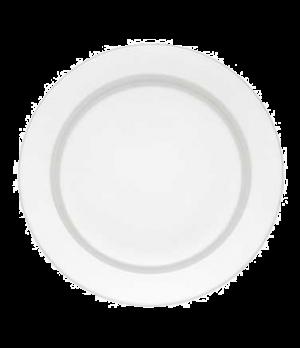 "Buffet Plate, 12-5/8"", round, premium porcelain, Corpo White"
