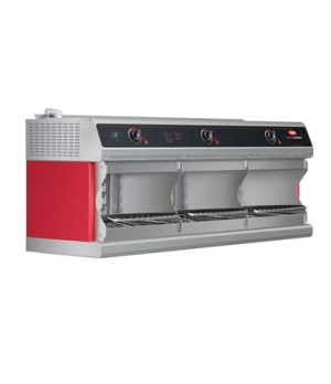 Thermo-Finisher™ 3-Bay Food Finisher, Wall mounted, electric, (3) upper elements