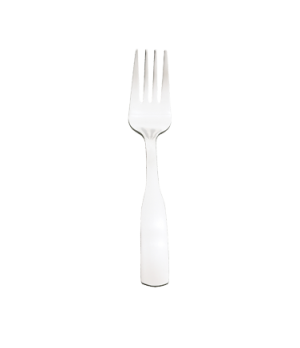 "Elegance Salad Fork, 6-1/4"", 18/0 stainless steel, mirror finish with satin fini"