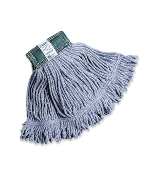 """Super Stitch® Mop Head, small, 4-ply cotton/synthetic blend, 5"""" headband, looped"""