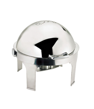 Harmony Chafer, full size, 7 qt., round, includes: fully retractable roll top li