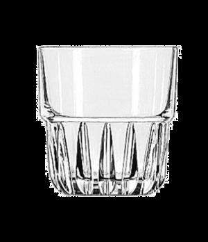 "Rocks Glass, 8 oz., stackable, DuraTuff®, EVEREST, (H 3-1/8""; T 3-1/8""; B 2-1/8"""