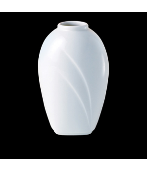 Bud Vase, Distinction, Alvo, Alvo White (UK stock item) (minimum = case quantity