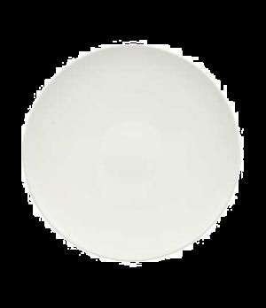 """Plate, 11-3/8"""", coupe, flat, premium porcelain, Dune"""