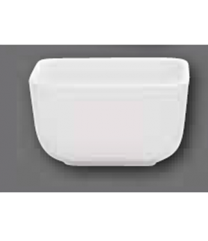 """Baking Dish, 3-1/2"""" x 3-1/2"""", square, oven, microwave and dishwasher safe, porce"""