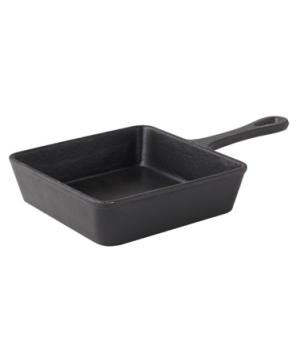 "Skillet, 14.4 oz. (426ml), 5-1/2"" (14 cm), square, Oven to Table, cast iron"