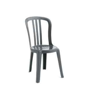 Miami Bistro Stacking Side Chair, designed for outdoor use, UV resistant resin,