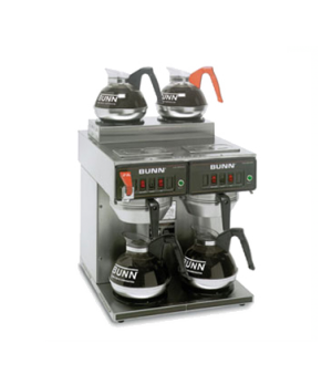 23400.0001 CWTF 2/2 TWIN Coffee Brewer, automatic, with 2 lower and 2 upper warm