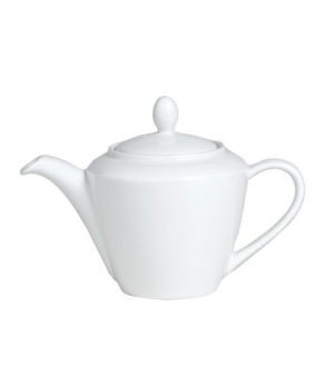 Madison Teapot, 21 oz., Lid 2, vitrified china, Performance, Simplicity, Rio Yel
