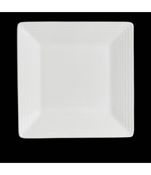 "Plate, 6-3/4"", square, rim deep, porcelain, Rene Ozorio Virtuoso (USA stock item"