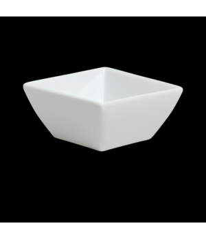 "Soup Bowl, 3-3/4 oz., 3-1/4"", square, porcelain, Duo, Rene Ozorio (USA stock ite"