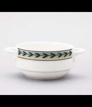 Soup Cup, 9-1/4 oz., stackable, premium porcelain, French Garden-Dampierre (Spec