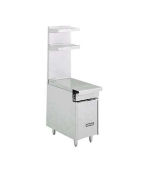 "Diamond Series Heavy Duty Spreader Cabinet, 36"", open cabinet, bottom shelf, sta"
