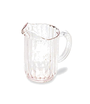 Bouncer® Pitcher, 48 oz., drip-proof spout, light weight, dishwasher safe, polyc