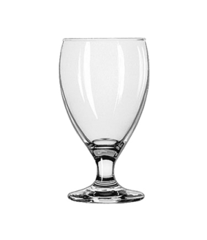 "Goblet Glass, 10-1/2 oz., Safedge® Rim and foot guarantee, TEARDROP™, (H 5-1/2"";"