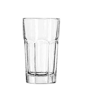 "Hi-Ball Glass, 7 oz., DuraTuff®, GIBRALTAR®, (H 4-1/2""; T 2-5/8""; B 2-1/4""; D 2-"