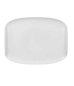 "Plate, 12-5/8"" x 9-5/8"", coupe, premium porcelain, Urban Nature"