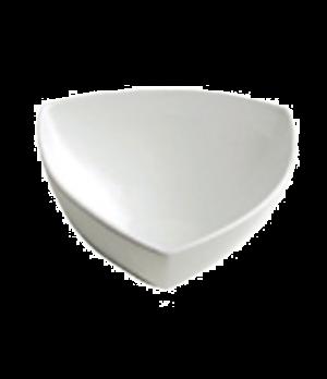 """Bowl, 76 oz. (2.3 liter), 9-1/4"""" (23 cm), triangular, Le Buffet, white"""