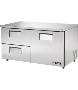 Undercounter Refrigerator, 33-38° F, stainless steel front, top & sides, white a