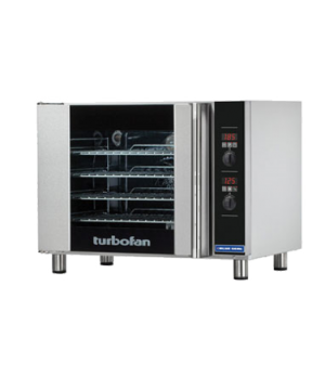 "Turbofan Convection Oven, electric, countertop, compact 31-7/8"" width, 24-1/4"" d"