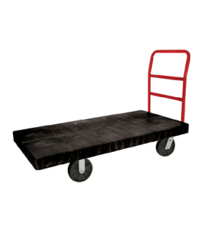 "Platform Truck, heavy duty, 60""L x 30""W, high density polyethylene platform, tub"