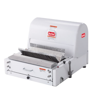 """Bread Slicer, painted white, 1/2"""" slice thickness, 6' cord & plug, 1/3 HP, 115v/"""