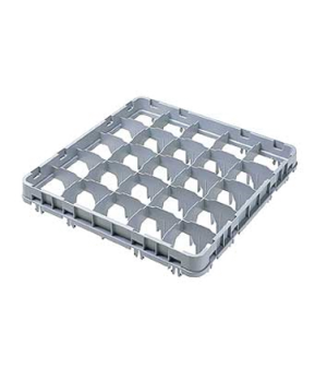 "Half Drop Stemware Extender, full size, 25 compartment, low profile, 19-5/8"" x 1"