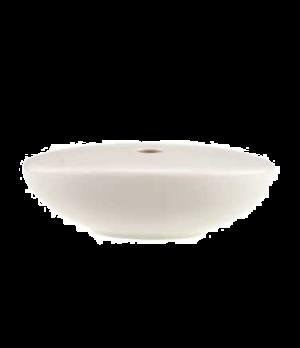 "Vase, 5-1/8"" x 3-3/4"", 7-1/2 oz., premium porcelain, Dune (DE Stock)"