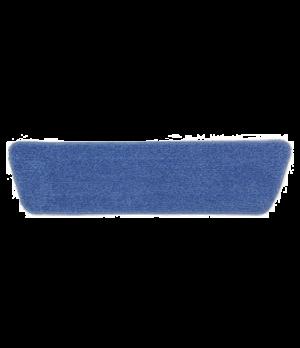 """Economy Wet Room Pad, 18"""", microfiber, blue"""