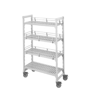 """Camshelving® Fence System, double level end, fits 14"""" post connector, includes ("""