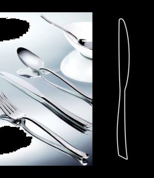 """Dessert Knife, 8-1/2"""", solid handle, stainless steel, La Tavola, Yuki (USA stock"""